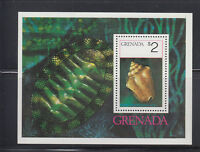 Grenada 1975 Sea Shells Sc 659 MS Complete Mint Never Hinged
