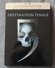Destination finale 5, Steelbook blu ray + DVD