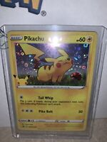 EX Pokemon 25th Anniversary Promo Pikachu Stamped HOLO SWSH039