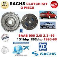 Per Saab 900 2.0 I 2.3 -16 131hp 150hp 1993-98 Sachs 2PC Kit Frizione SX Drive