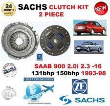 PARA SAAB 900 2.0 i 2.3 -16 131hp 150 hp 93-98 SACHS 2 PIEZAS EMBRAGUE KIT para