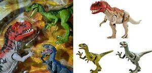 Mattel - Jurassic World Clash Set - OVP - 1x Ceratosaurus - 2 x Velociraptoren