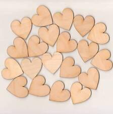 20 Symétrique cœurs en 4cm BOIS dekoherzen Décoration de mariage table