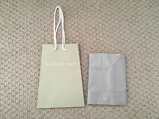 Authentic New Van Cleef & Arpels Satin Finish Shopping Gift Bag + Wrapping Paper