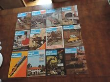 Trains 1970 Model Railroader Railroad Magazines 12 Issues toy train mags