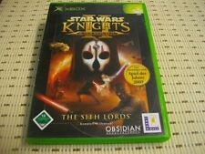 Star wars knights of the old republic ii 2 xbox * OVP *