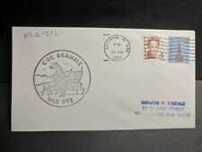 Uscgc Bramble Wlb-392 Naval Cover 1988 Cachet Saginaw, Michigan