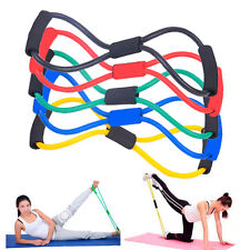 Resistance BAND Muscle Stretch Workout Elastic Bands Yoga Pilates Exercise Hot