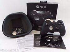 Black Microsoft Xbox Elite Wireless Controller for Xbox One Model 1698 #Bl1C3