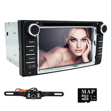 HIZPO Multimedia Stereo Car Radio DVD Player GPS Navigation iPod RDS Toyota+Cam