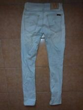 Nudie TIGHT LONG JOHN SKINNY stretchy jeans  Sz-26 LIGHT BLUE 100%Authentic