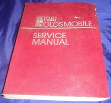 BS592 1981 Oldsmobile Service Manual