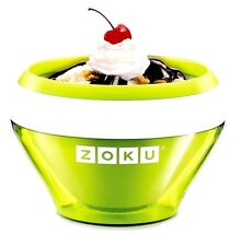 New! Zoku Green Ice Cream Maker Instant Ice Cream Maker Green Lime Dessert