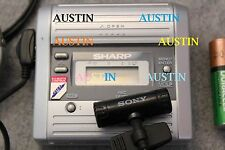SHARP MD MT280 MINIDISC PLAYER RECORDER WITH MICROPHONE