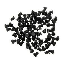 100PCS Tube Rubber HP Black Sealing Plug Cartridge Elbow Stopper CISS Fitting