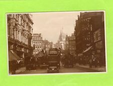 London Ludgate Circus Bus Horse & Cart RP pc used Judges L113 Ref J327