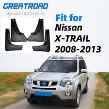 For Nissan X-Trail T31 2008-2013 Xtrail Splash Car Mud Flaps  Mud Flap Mudguards