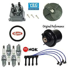 Tune Up Kit Fuel Filter Cap Rotor Wire Plugs for Acura Integra GS;LS; 1.8L 99-01