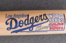 Los Angeles Dodgers 1981 World Series Champs S.E.Cooperstown Bat Com Wooden Bat