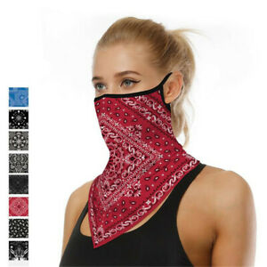 Bandana Head Scarf Face Mask Neck Cover Tube Cycling Printed Breathable Outdoor
