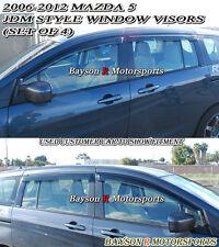 06-15 Mazda 5 Window Rain Guard Visors (Tinted)