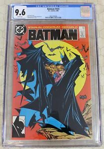 BATMAN #423 CGC 9.6 McFarlane cover!  (DC Comics)!