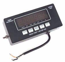 WEIGHT POINT SCALE MONITOR WP9202 DIGITAL MICROPROCESSOR INDICATOR W/O SENSOR