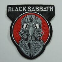 BLACK SABBATH Band Logo (Embroidered Small Patch) (NEW)
