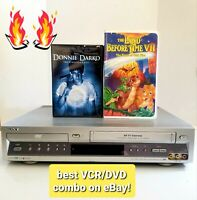 🔥 Sony SLV-D100 DVD VCR Combo Player HiFi Stereo VHS Recorder Tested 💯%Working