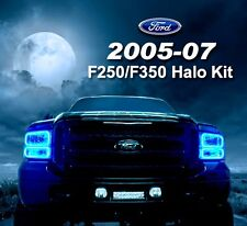 2005-07 Ford F250-350 Color Changing RGB Headlight ColorShift Halo Kit
