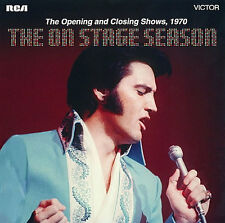 "Elvis Presley The On Stage Season : FTD 2 CD 1970 Soundboards [7"" Presentation]"