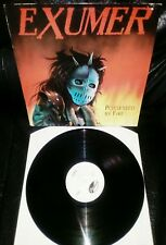"""EXUMER LP -""""POSSED BY FIRE"""" 1986 DISASTER 10005"""