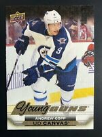 2015-16 Andrew Copp Young Guns Canvas Rookie