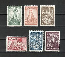Bulgarien Michelnummer 260 - 265 postfrisch Falz (europa:4601)