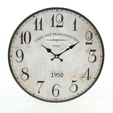 New listing Country House Wall Clock,Romantic Watch Cafe Des Marguerites,Kitchen Clock Style