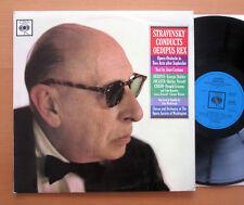 BRG 72131 Stravinsky Conducts Oedipus Rex CBS Mono EXCELLENT + insert