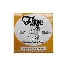 Fine Classic Shaving Soap - Italian Citrus