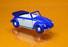 Wiking 079404 Volkswagen VW 1200 Cabriolet - blau / silber