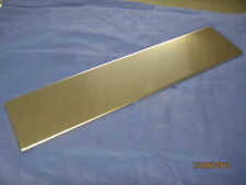 MG MGB ROADSTER or GT STAINLESS STEEL FRONT NUMBER PLATE BACKING ***X1B