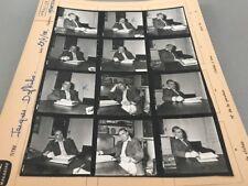 JACQUES DUFILHO : PLANCHE CONTACT ORIGINALE DE 1972