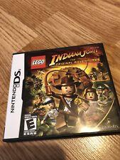 LEGO Indiana Jones: The Original Adventures (Nintendo DS, 2008) Works - VC2