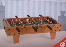 SMALL FOOT Tischfußballspiel Tisch Kicker Fußballspiel Tischspiel HOLZ ohne OVP