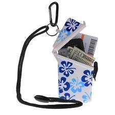 Witz Dry Box Keep it Safe Locker ID Scuba Diving Gear Flower Blue