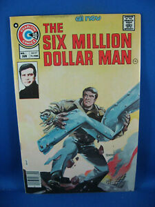 SIX MILLION DOLLAR MAN 1 F VF FIRST ISSUE 1976 PHOTO COVER