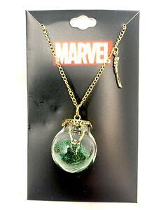 Marvel Loki Necklace Orb w/ Helmet & Beads Disney+ Mini Charm Scepter Brand NEW