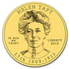 2013-W 1/2 oz Gold Helen Taft BU (w/Box & COA) - SKU #78929