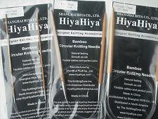 "HiyaHiya 5.0mm x 80cm (32"") Bamboo Circular Knitting Needles"