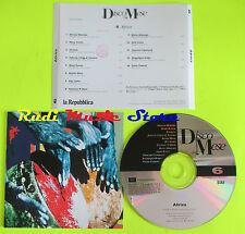 CD AFRICA il disco del mese 6 1995 promo MORY KANTE YOUSSOU N DOUR(C9*)lp*mc*dvd