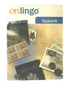Onlingo Spanish CD 3 Language Course Interactive New Sealed NWT FREE SHIP Deal