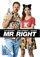 MR.RIGHT   DVD NEU  SAM ROCKWELL/ANNA KENDRICK/TIM ROTH/+